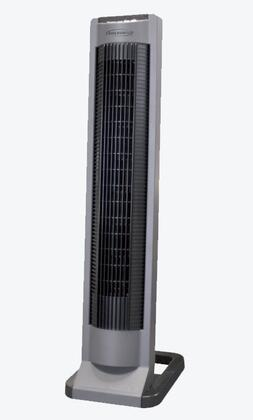 FC35RA 35 inch  Inclined Gliding Grille Tower Fan with 3 Fan Speeds  Shut Off Timer  LED Display Panel  and Wind Mode  in