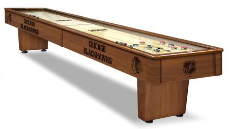 SB12ChiHwk Chicago Blackhawks 12' Shuffleboard