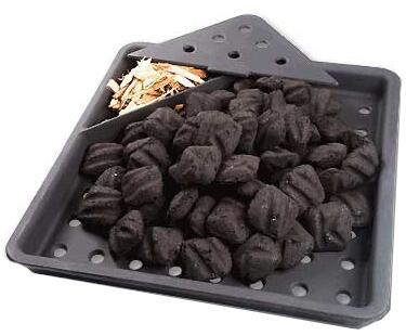 67732 Cast Iron Charcoal and Smoker
