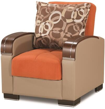 Mobimax Collection MOBIMAX ARM CHAIR ORANGE 17-343 35