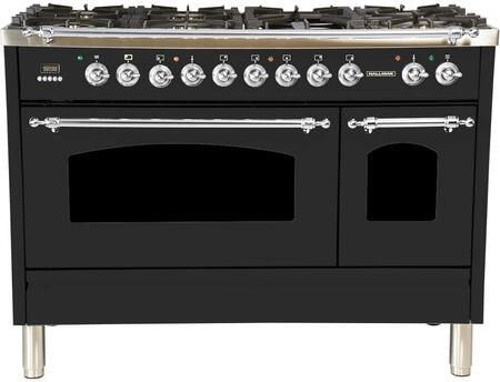 HGR4802DFMGLP 48 inch  Dual Fuel Liquid Propane Range with 7 Sealed Burners  5 cu. ft. Total Capacity True Convection Oven  Griddle  in Matte