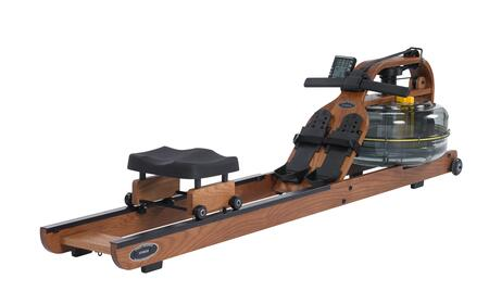Horizontal Series VIK3AR Viking 3 Adjustable Resistance Indoor Rower with American Ash Frame  Multilevel Monitor with USB Port  Durable Belt Drive and Built-In