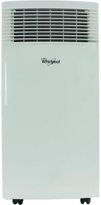 Whirlpool WHAP081AW 8,000 BTU Single-Exhaust Portable Air Conditioner with Remote Control in White