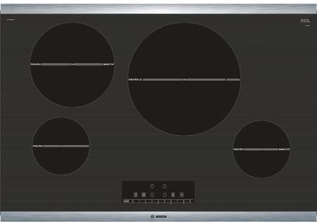 "NIT8068SUC 30"" 800 Series Induction Cooktop with 4 Elements AutoChef Independent Countdown Timer and SpeedBoost in Stainless"