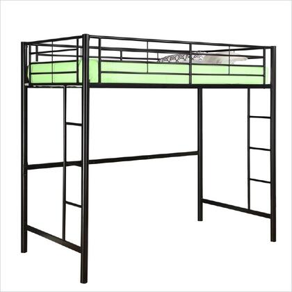 BTOLBL Twin Metal Loft Bed -