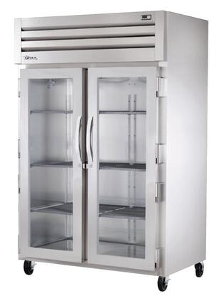 STG2R-2G Spec Series Two-Section Reach-In Refrigerator with 56 Cu. Ft. Capacity  LED Lighting and Glass