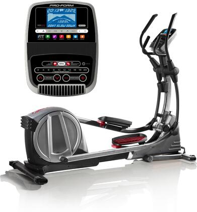 PFEL06916 695 CSE Elliptical with Silent Magnetic Resistance  Vertical Space Saving Design  IPod Compatible and 24 Workout
