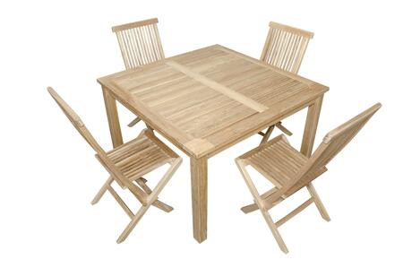 SET-62 5-Piece Dining Set with 47