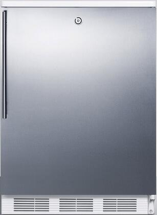 FF6LBI7SSHV 34 inch  FF6BI7 Series Medical  Commercially Listed Freestanding or Built In Compact Refrigerator with 5.5 cu. ft. Capacity  Front Door Lock  Interior
