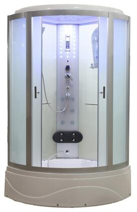 WS902L36 36 inch x36 inch x86.2 inch  Shower Enclosure with 10 Acupuncture Massage Jets  Steam Sauna