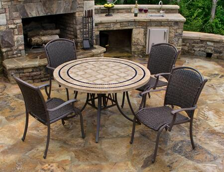 MQS5PC Marquesas 5Pc Dining Set with 48
