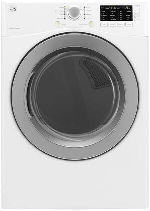 81182 27 Electric Dryer with 7.4 cu. ft. Capacity  Sanitize Cycle  Touch Controls  Wrinkle Guard and Dual Sensor System in