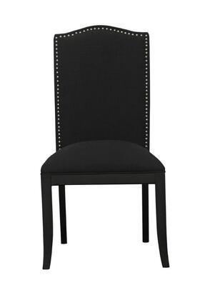 DS-2662-270-411 Dining Chair Devon Cinder in Black