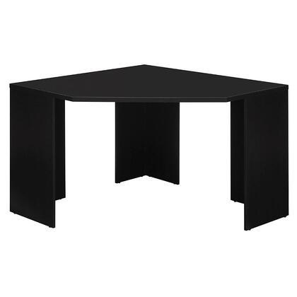 MY62902-03 Stockport Corner Desk  Black  Compact Design  Home Office