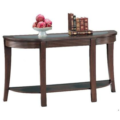5526 Simpson Sofa Table with Glass Top by