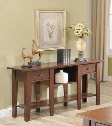 Ezra_Collection_5952ST_Sofa_Table_with_2_Drawers__Bookshelf__Bottom_Shelf__Solid_Hardwood_Construction__Oak_Veneer_and_Poplar_Material_in_Cherry