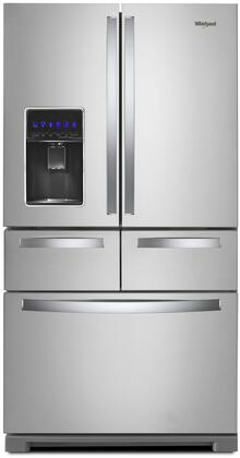 WRV986FDHZ 36 inch  French Door Refrigerator with 26 cu. ft. Total Capacity  in Stainless