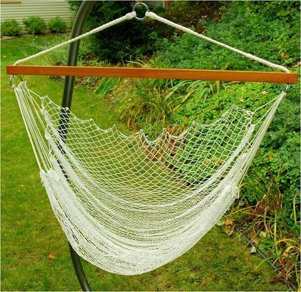 8987 36 inch  Nylon Net Hanging Hammock Chair in