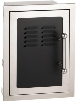 53820H-TSL Echelon Black Diamond Series Left Hinge Single Access Door with Liquid Propane Tank Tray and