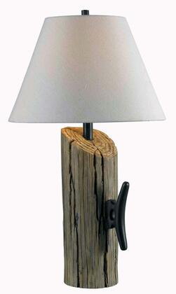 32055WDG Cole Table Lamp in Wood Grain