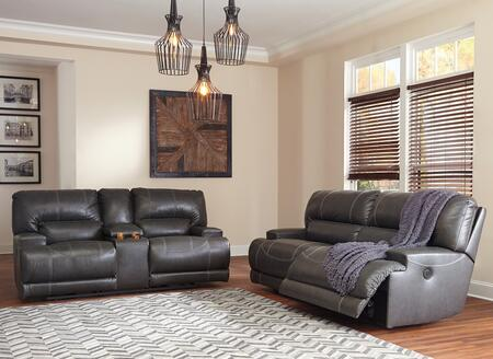 McCaskill Collection U60900-47-96 2-Piece Living Room Sets with Motion Sofa  and Loveseat in