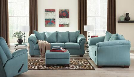 Darcy 75006SLR 3-Piece Living Room Set with Sofa  Loveseat and Recliner in