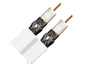 PVCX2W Approved Rg6 Dual White Cable