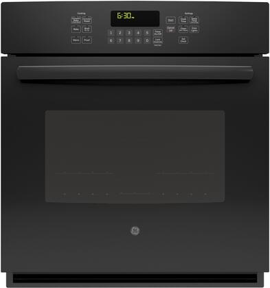 JK5000DFBB 27 Built-In Single Wall Oven with 4.3 cu. ft. Total Oven Capacity  Convection Self-Clean Heavy Duty Oven Racks  Steam Clean Option  Ten