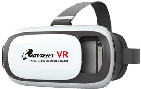 Riviera RIV-VR9 RC Virtual Reality Smartphone Headset with Compatibility with Riviera RC FPV Apps  Adjustable lenses and Light Weight in