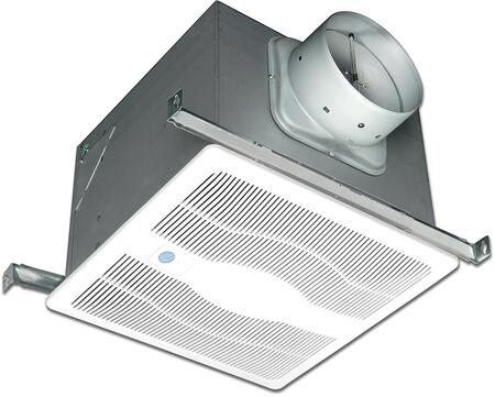 EVDG Variable Speed Exhaust Fan with 130 CFM  Motion Sensor  23 Gauge Galvanized Steel Housing  Polymeric Grill  and 8 Adjustable Capacity Motor  in
