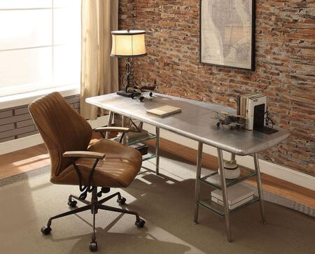 Brancaster Collection 927902 2 PC Office Furniture with 67