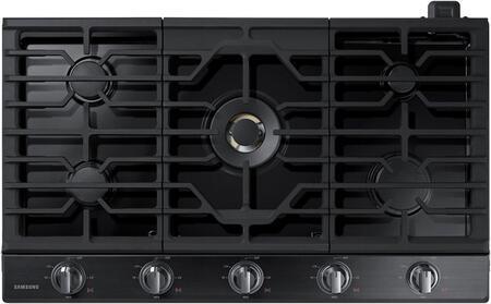 Samsung NA36N7755TG 36 Black Stainless 5 Burner Gas Cooktop