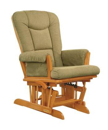 37457KD.B9.0160 Honey Super Comfortable Glider - Vista Wheat