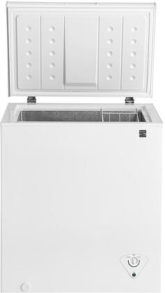 17502 29 Chest Freezer with Front-Mounted Temperature Controls  Power Indicator Light  Removable Wire Basket and Defrost Drain in