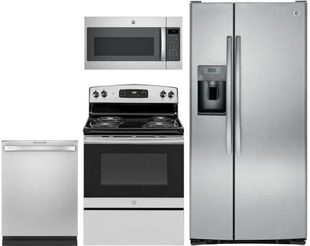 4Piece Kitchen Package in Stainless