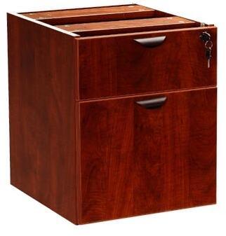 """N108-MOC 19"""" 2 Hanging Pedestal - 3/4 Box and File Drawer in"""