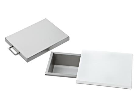 DSTC 9 inch  Trash Chute with Removable Sliding Cutting Board and Cover : Stainless