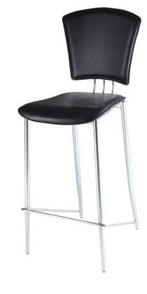 TRACY-BS-BLK Bar Height Stool Finish in