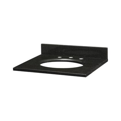 GRUT250BK_Stone_Top__25inch_for_Oval_Undermount_Sink__in_Black
