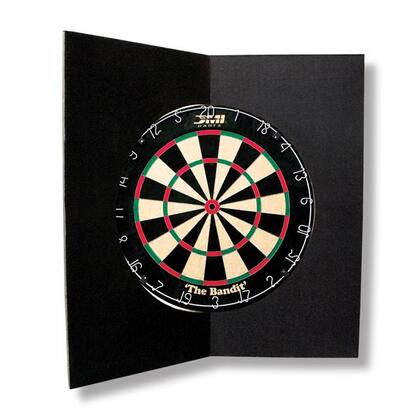 FOLDBKBD Deluxe Dartboard 26.5 inch  x 26.5 inch  Folding Wall Protector with Wall Protecting Bumpers on