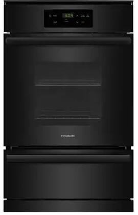 Frigidaire FFGW2416UB 24 Inch 3.3 cu. ft. Total Capacity Gas Single Wall Oven in Black