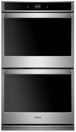 Whirlpool WOD51EC7HS 27 Stainless Double Electric Wall Oven