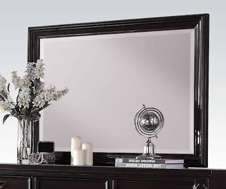 Charisma Collection 21585  46 inch  x 32 inch  Mirror in Dark Espresso