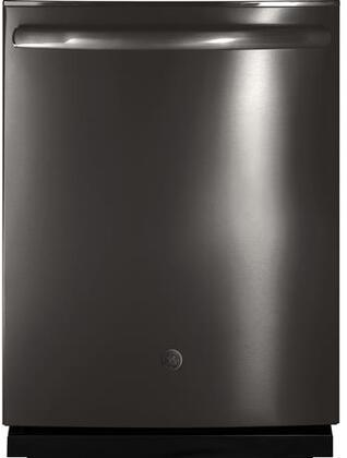 "GE 24"" Built-In Dishwasher Black stainless steel GDT695SBLTS"