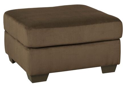 "Dailey Collection 9540308 33"""" Oversized Accent Ottoman with Fabric Upholstery  Block Feet and Contemporary Style in"" 688134"