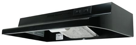 "AD1306 30"""" Under Cabinet Hood with Charcoal Filter  75W Incandescent Lighting and Rocker Switch Controls with 2 Speeds:"" 157700"