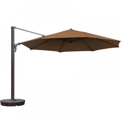 NU6755 Victoria 13-ft Octagon Cantilever in Stone Sunbrella