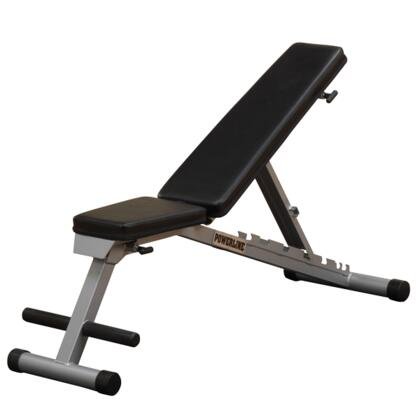 PFID125X Powerline Flat  Incline  Decline Bench with 7-Position Adjustment
