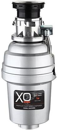 XOD1HPBF Food Waster Disposer with 1 HP  Batch Feed Operation  2500 RPM Hi-Torque Motor  Anti-Microbial Odor Protection  Stainless Steel Grind System and 3'