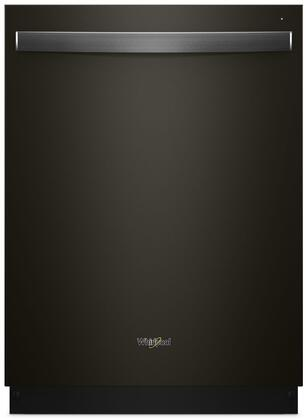 "Whirlpool 24"" Built-In Dishwasher Black stainless steel WDT730PAHV"